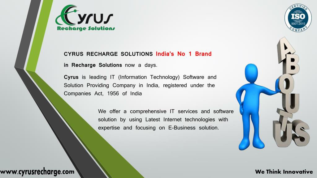PPT - Cyrus Recharge - Mobile Recharge Software Development