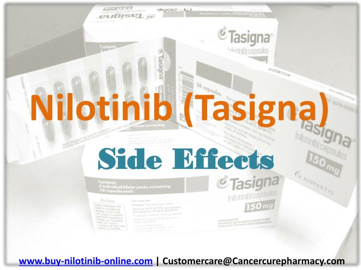 nilotinib tasigna side effects n.