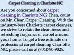 carpet cleaning in charlotte nc 1