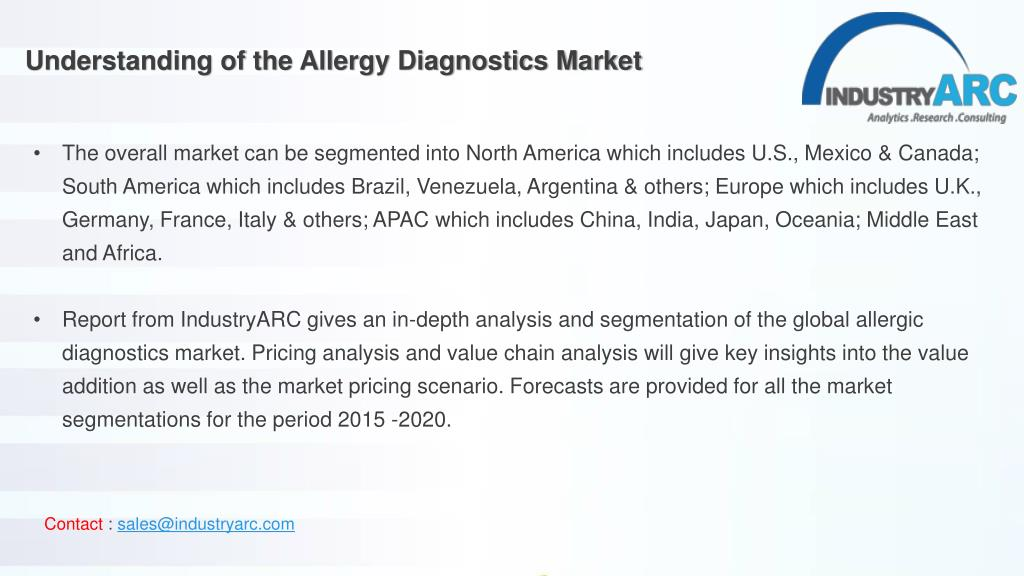 PPT - Allergy Diagnostics Market-Forecast (2017-2022) PowerPoint