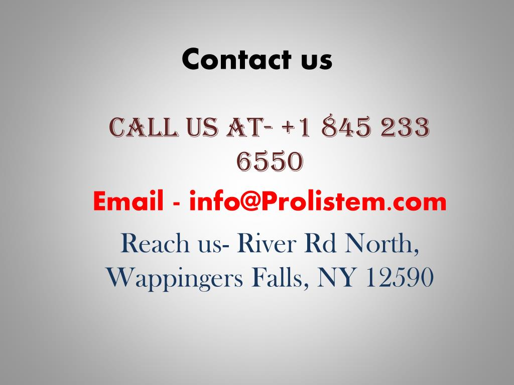 PPT - Prolistem- Causes and Treatment of Male Infertility PowerPoint