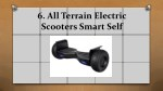 6 all terrain electric scooters smart self