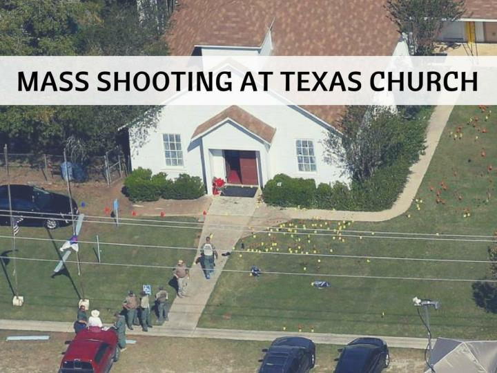 mass shooting at texas church n.