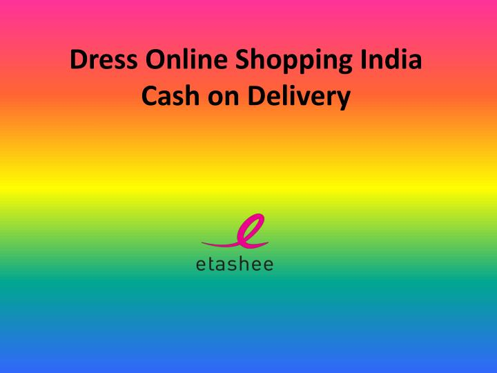 dress online shopping india cash on delivery n.
