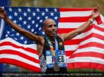 meb keflezighi of u s acknowledges the crowd