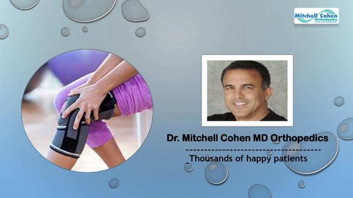 dr mitchell cohen md orthopedics n.