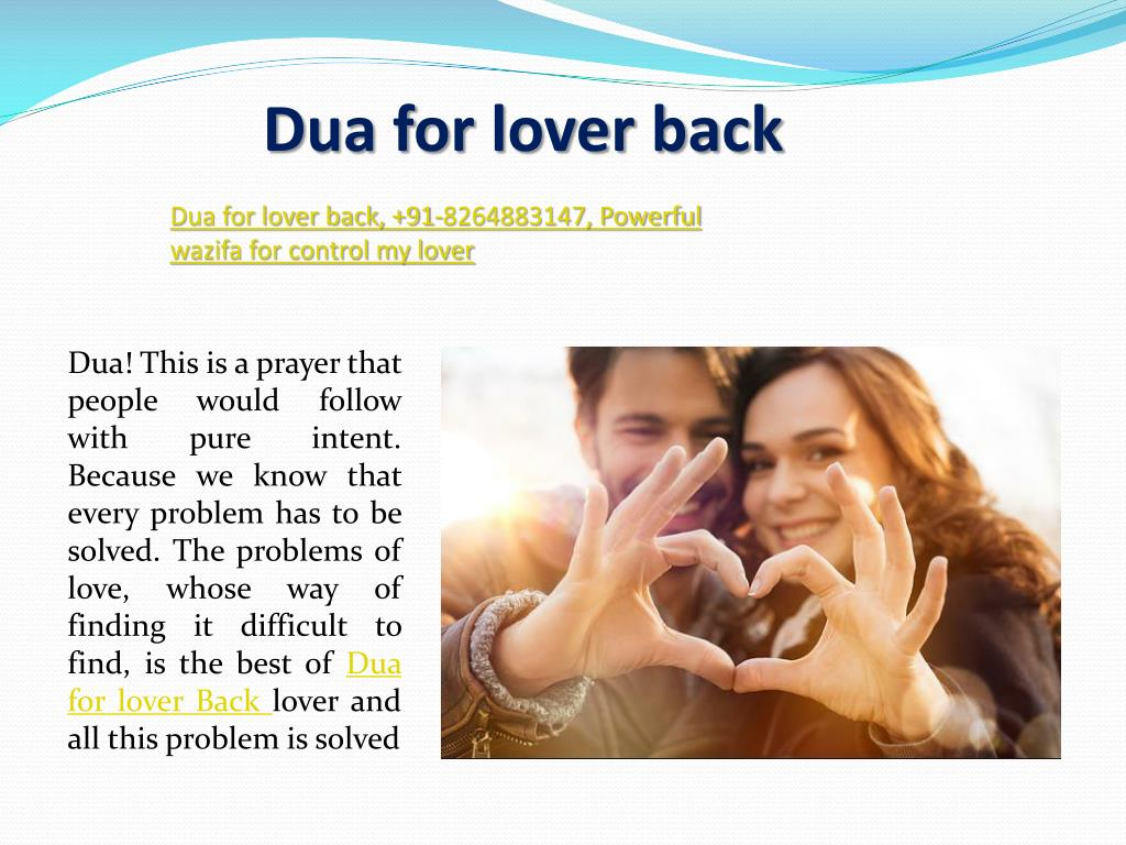 PPT - Dua for getting lost love back, 91-8264883147, Get