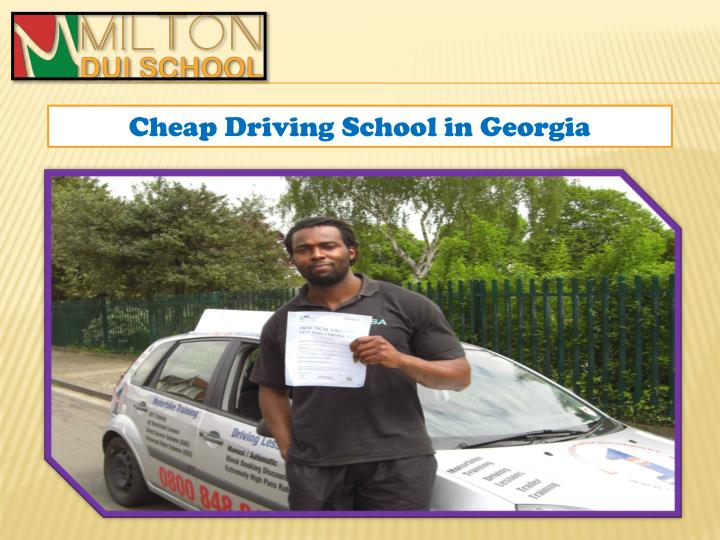 Ppt Drivers Education Classes Georgia Powerpoint
