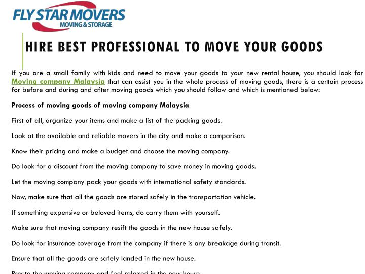 hire best professional to move your goods n.