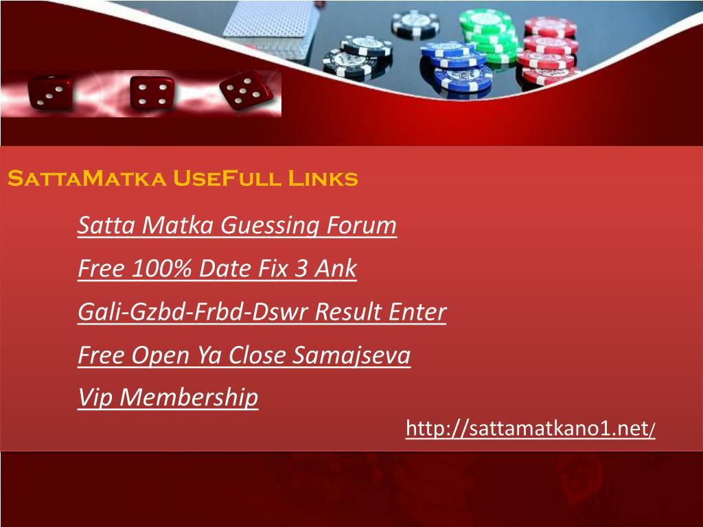 Ank 3 100 fix date Satta Matka