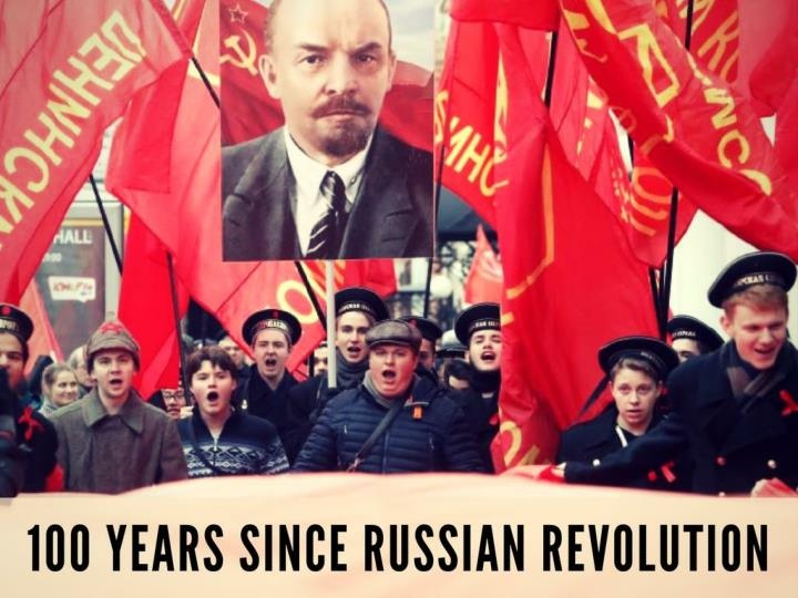100 years since russian revolution n.