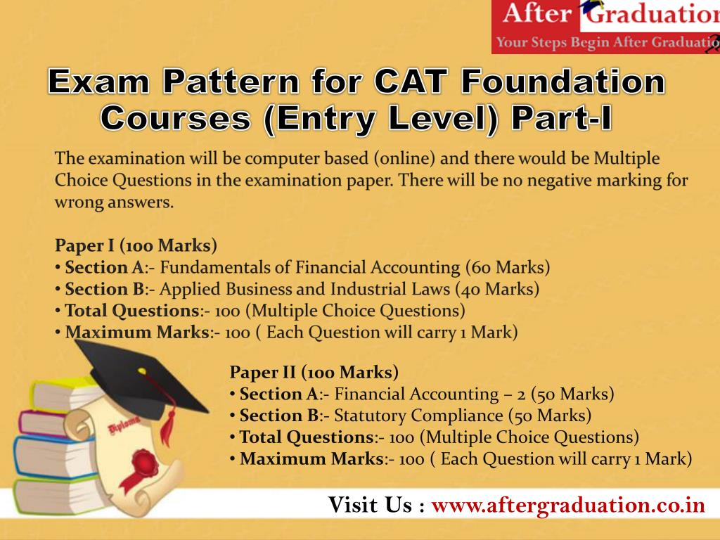 PPT - ICMAI CAT - Certificate In Accounting Technicians