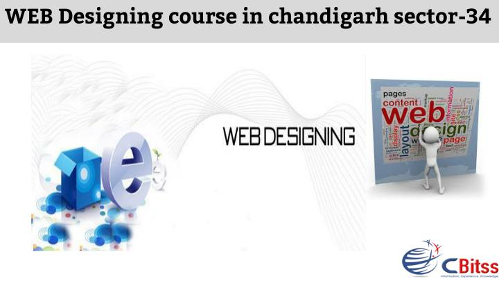 web designing course in chandigarh sector 34 n.