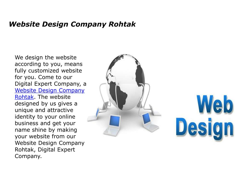 ppt website design company rohtak powerpoint presentation id 7744811