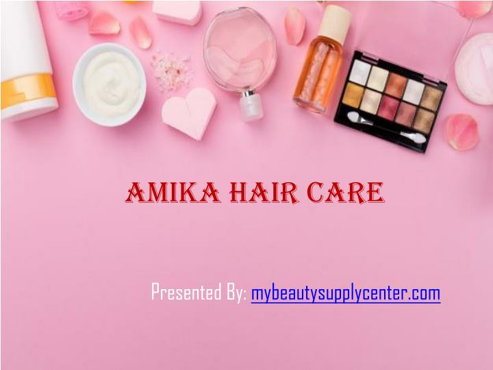 amika hair care n.