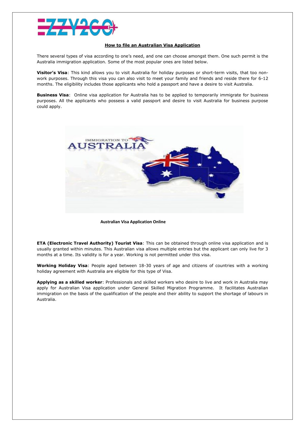 PPT - How to file an Australian Visa Application PowerPoint Presentation -  ID:7745307