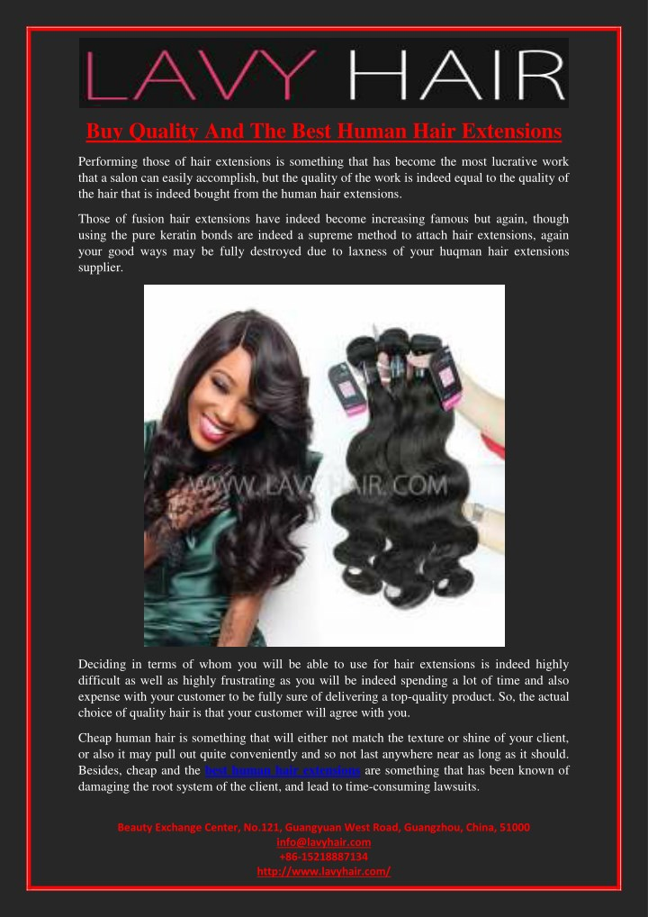 buy quality and the best human hair extensions n.