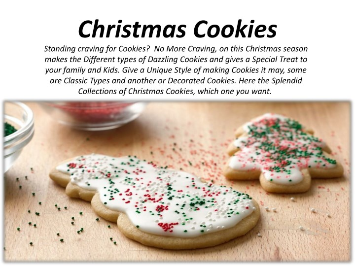 Ppt Christmas Cookies Powerpoint Presentation Id 7745901