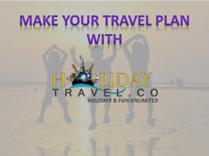 make your travel plan with n.