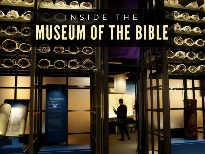 inside the museum of the bible n.