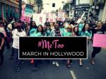 metoo march in hollywood