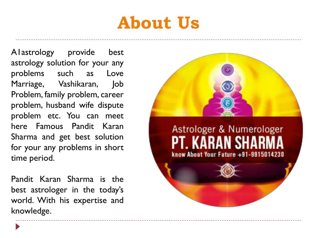 PPT - Get Job Problem Astrology Solution with A1astrology