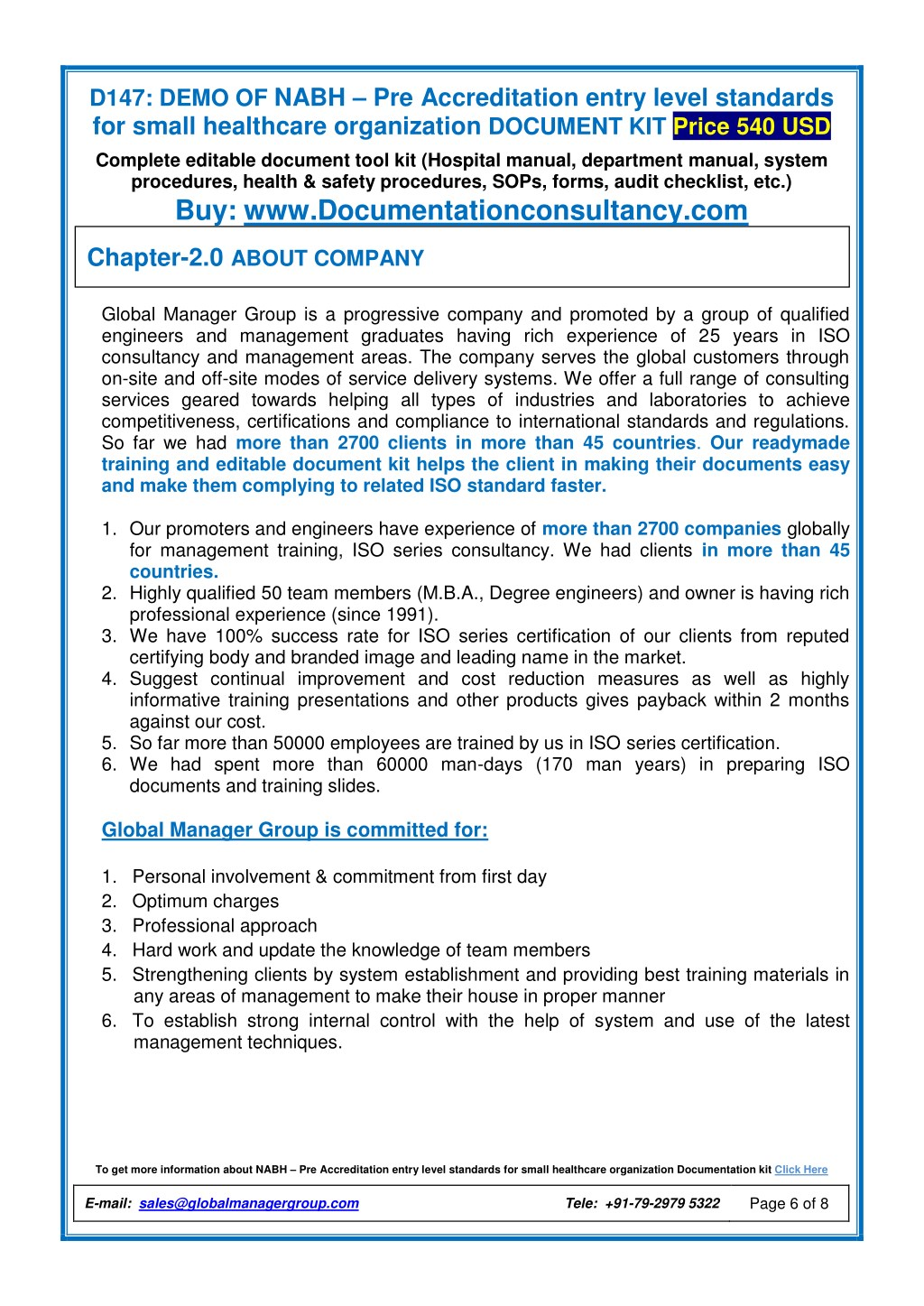 PPT - Small Healthcare Accreditation Documentation Kit