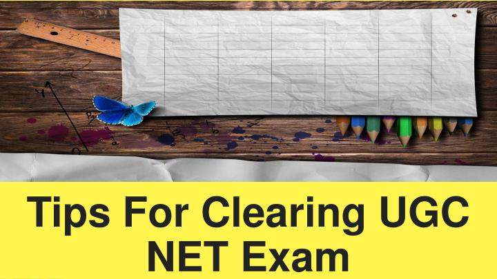 tips for clearing ugc net exam n.