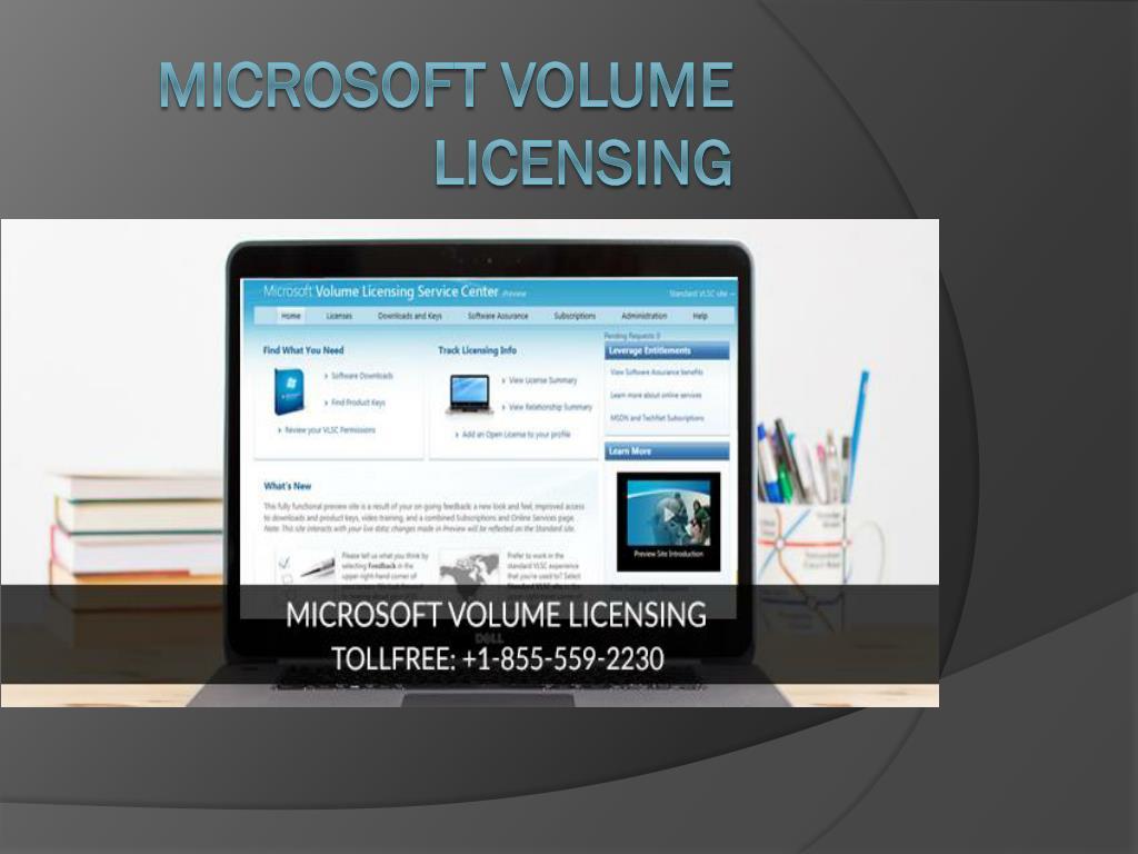 microsoft volume licensing service