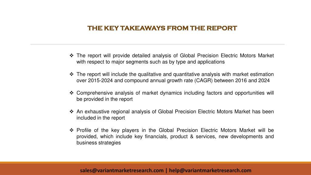 PPT - Precision Electric Motors Market PowerPoint