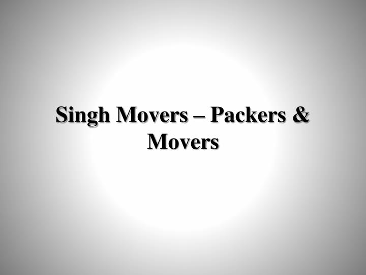 singh movers packers movers n.