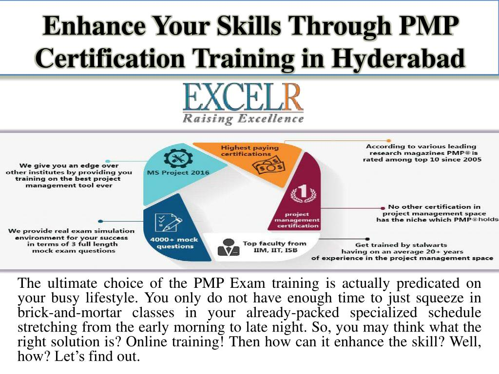 PPT - Enhance Your Skills Through PMP Certification Training in