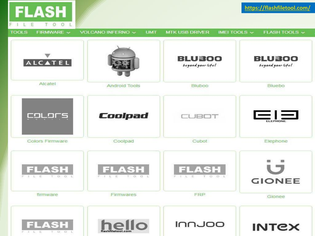 PPT - SP Flash Tool - Flash File Tool PowerPoint