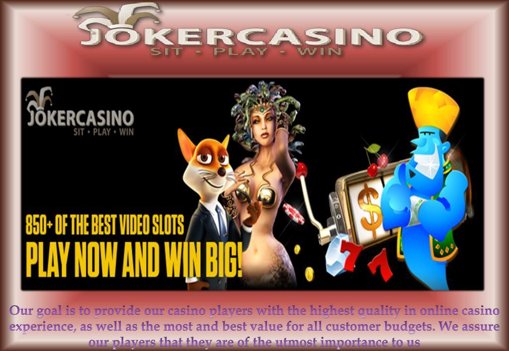 PPT - Online Casino, Casino Bonus, Joker Casino PowerPoint Presentation -  ID:7750526