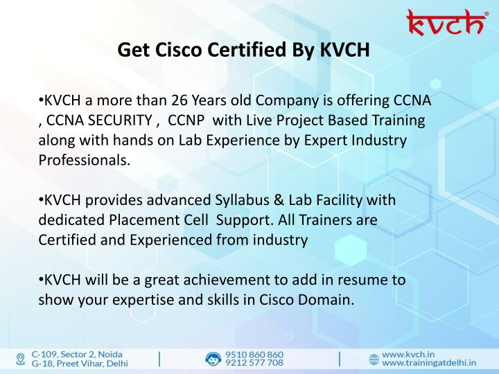 PPT - 6 months based CCNA training course in Noida PowerPoint ...