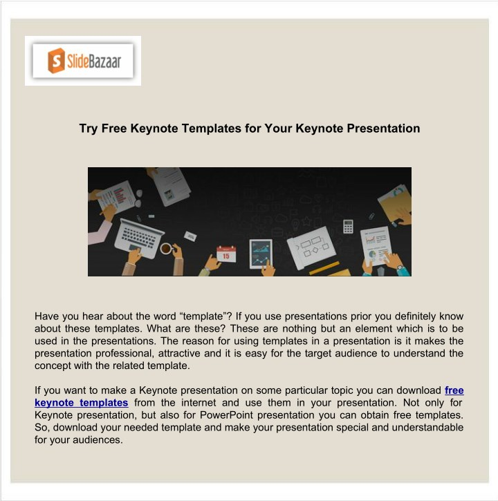 Ppt Try Free Keynote Templates For Your Keynote Presentation