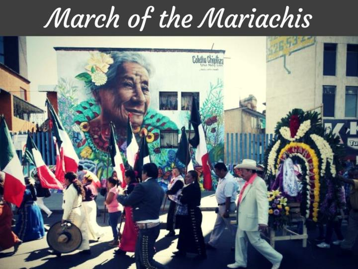 march of the mariachis n.
