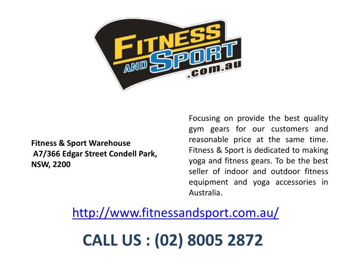focusing on provide the best quality gym gears n.