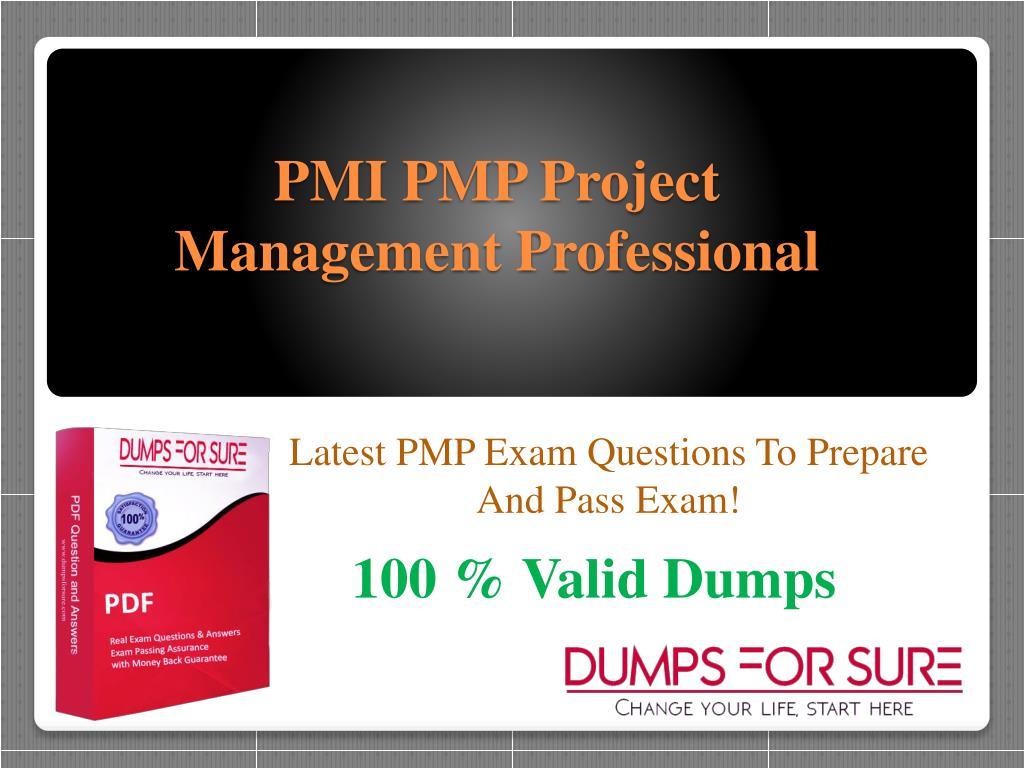 project management professional exam questions pdf