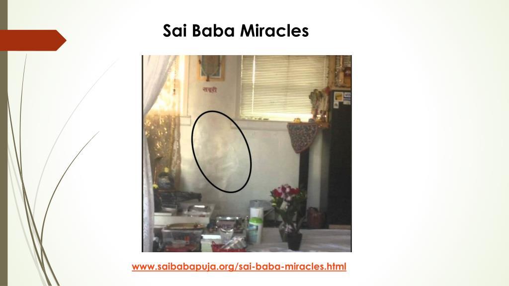 PPT - Sai Baba Puja   Saibabapuja org PowerPoint