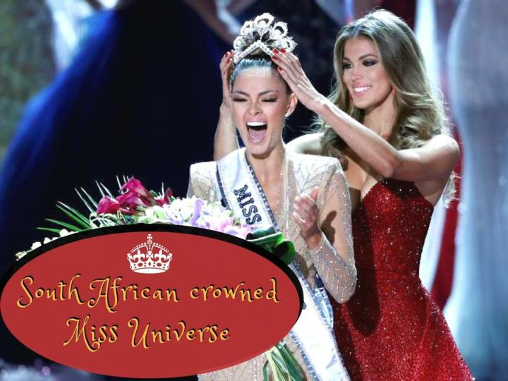 south african crowned miss universe n.