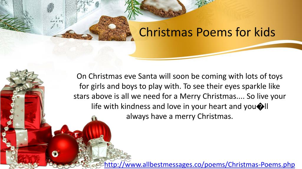 Poems About Christmas.Ppt Short Christmas Poems Christmas Poems For Kids On