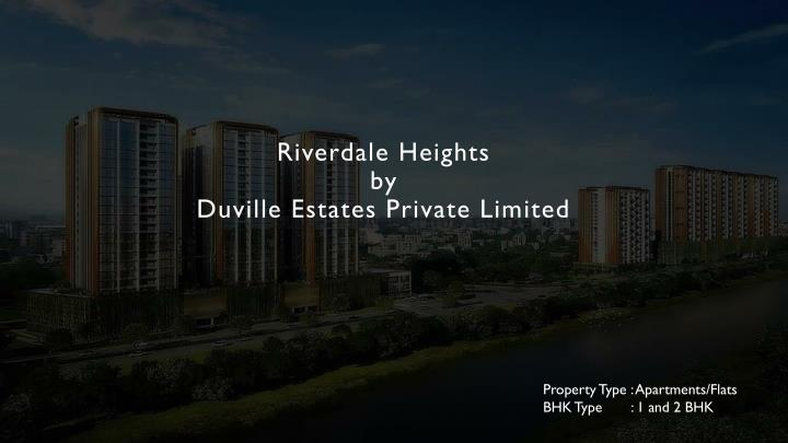 riverdale heights by duville estates private limited n.