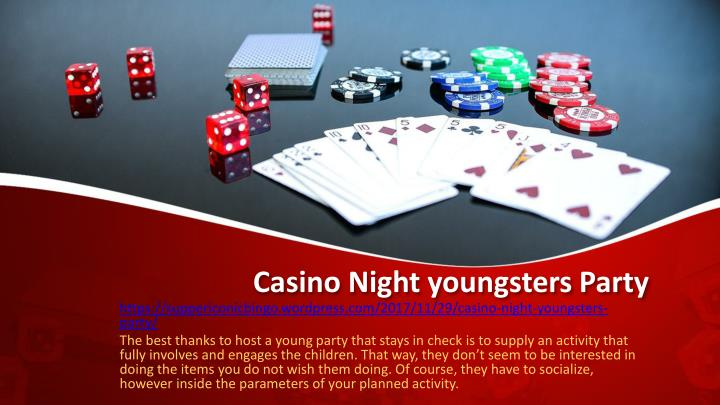 casino night youngsters party n.