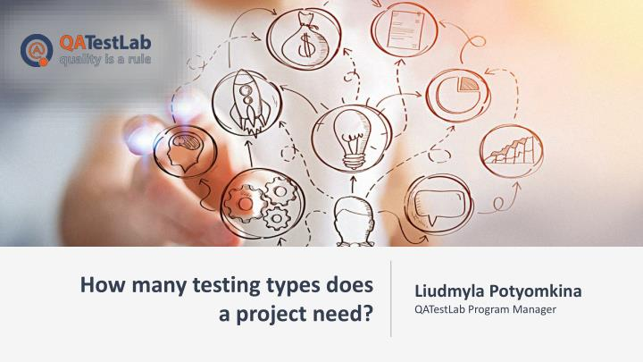 how many testing types does a project need n.