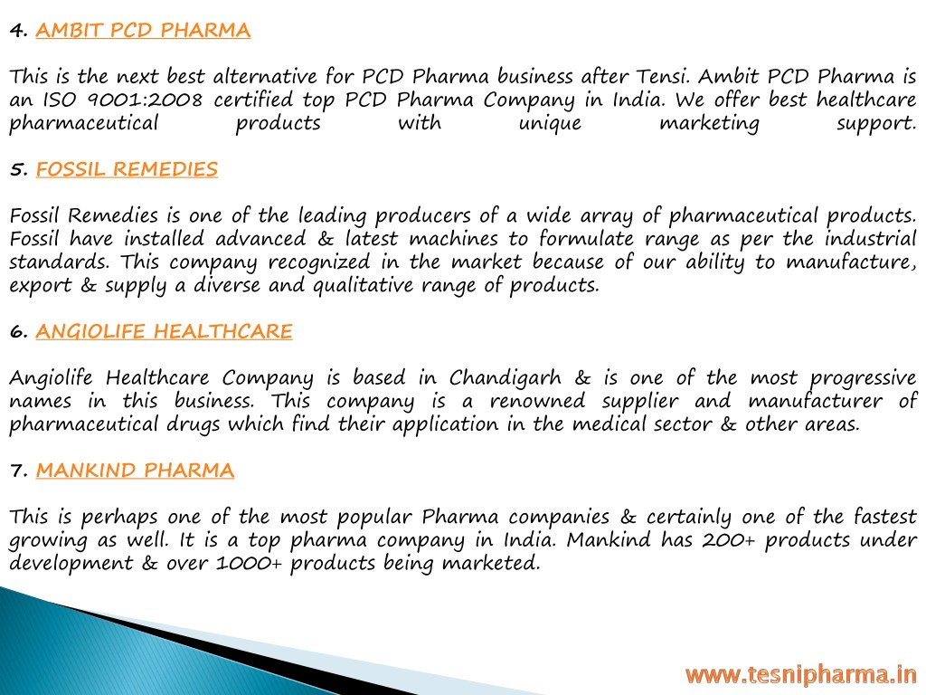PPT - Top 10 Pharma Franchise Companies in India PowerPoint