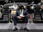 an attendee experiences virtual reality reuters