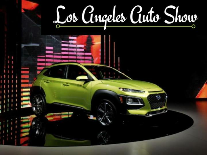 los angeles auto show n.