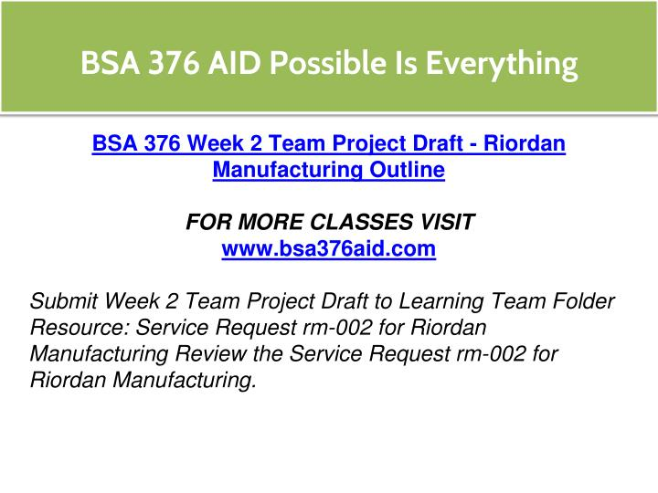 riordan manufacturing service request sr rm 022 part 2 Service request sr-rm-022, part 2 bsa 375 09-01-2014 service request sr-rm-022, part 2 riordan manufacturing would like to incorporate their existing hr.