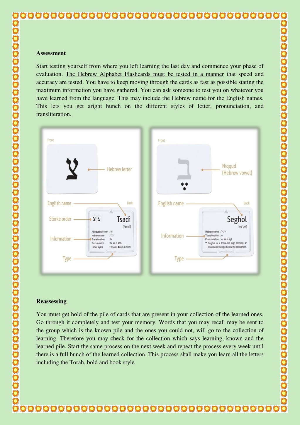 PPT - Here Is A Method That Is Helping Hebrew Alphabet Flashcards